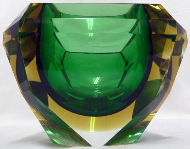 Mandruzzato Sommerso glass bowl