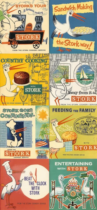 Collection of Stork margarine cook books | H is for Home
