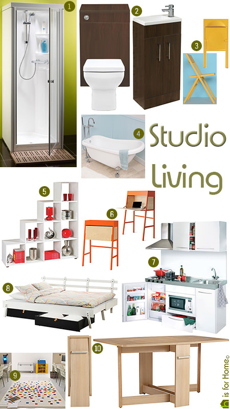 'Studio Living' monthly mood board