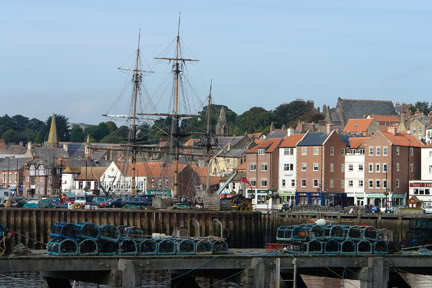 View of Whitby across the River Esk | H is for Home