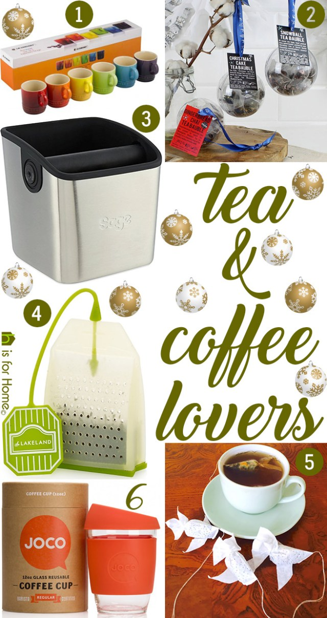 Christmas gifts of the day: Tea & coffee lovers - H is for ...