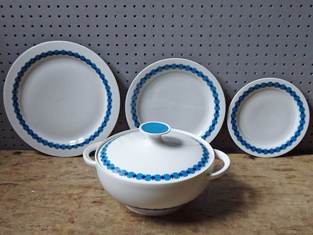 Vintage Thomas Germany porcelain pieces | H is for Home