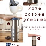 Gimme Five! Travel coffee presses