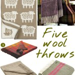 Gimme Five! Wool throws