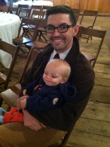 Daddy and Oliver
