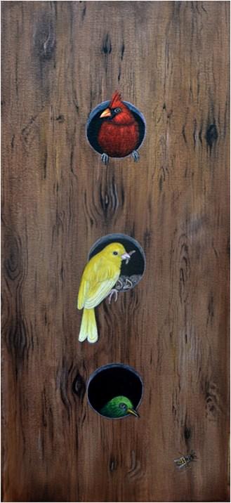 Traffic Light Birds