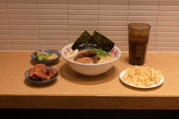 一風堂 EXPRESS |新竹|巨城 自己的配料自己加,必吃特製軟嫩入味豬軟骨拉麵。