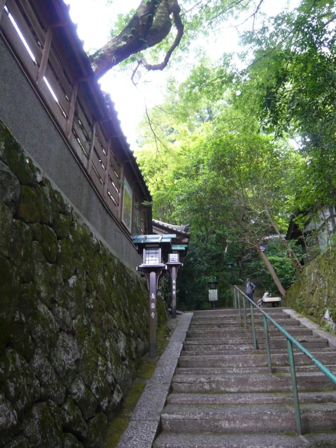 長楽寺参道
