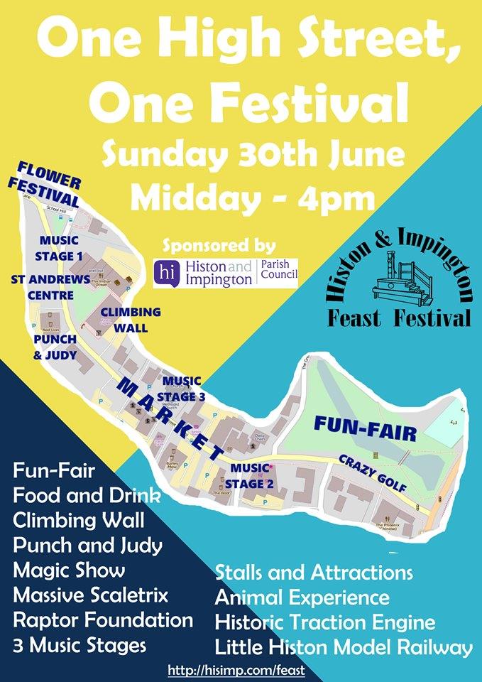Feast Festival Map 2019