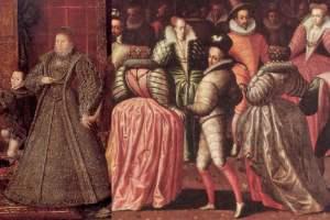 西欧女性时尚1580-1600年
