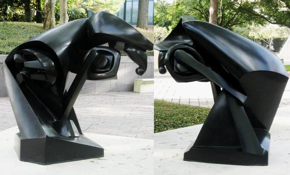 Kubistische Skulptur