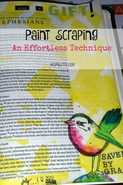 Paint Scraping: An Effortless Technique