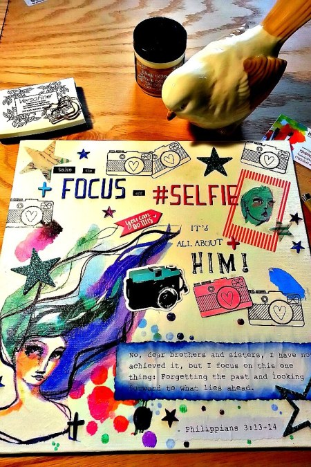 Take The FOCUS Off Selfie image