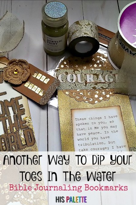 Another Way To Dip Your Toes In: Bible Journaling Bookmarks