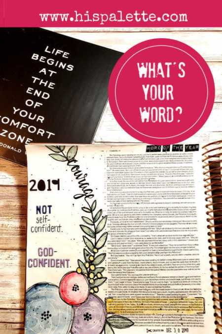 What's your word of the year? Take the quiz NOW and find motivation for the new year. #hispalette #biblejournaling #illustratedfaith