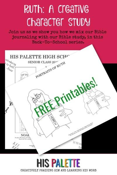 ruth study printables