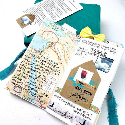 journaling page using kit