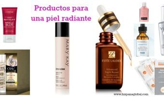 8 productos para ayudarte a lucir una piel radiante