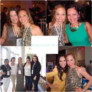 Vanessa Smith, Eliana Tardio, Jeannette Kaplun, Nicole Presley, Rachel Matos, Lina Baena, Monique Frausto en Hispanicize