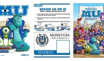 Cómo hacer una credencial de Monsters University