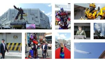 Fotos de la espectacular inauguración de Transformers en Universal Orlando