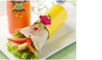 Receta vegetariana: wraps de verduras con miel y aguacate