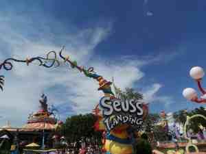 Dr Seuss en Islands of Adventure