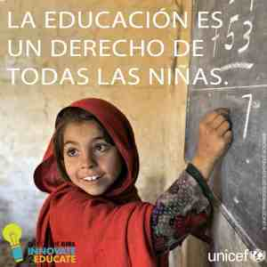 Las niñas necesitan más educación