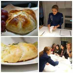 Receta de Chef Lorena Garcia de brie horneado