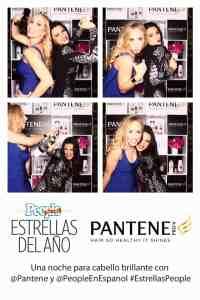 Maite Perroni con Jeannette Kaplun se divierten en el photobooth de Pantene