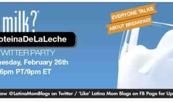 """¡Participa en la Fiesta por Twitter""""Mañanas Saludables""""!#ProteinaDeLaLeche"""