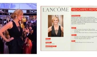 Detalles del maquillaje de Julia Roberts en los premios Oscar