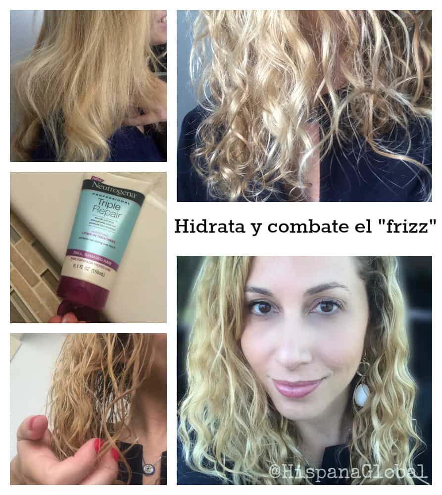 Hidrata y combate el frizz en cabellos largos