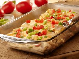 Deliciosas enchiladas de pollo