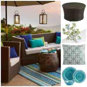 Artículos y muebles de Pier 1 Imports para decorar tu terraza