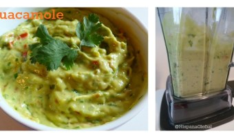 Receta de guacamole delicioso, fácil y rápido