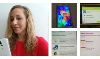 El Samsung Galaxy S5 : a prueba de niños y de agua