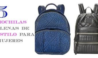 5 mochilas ideales para mujeres y no para niños