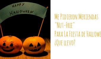 Meriendas sin nueces para Halloween