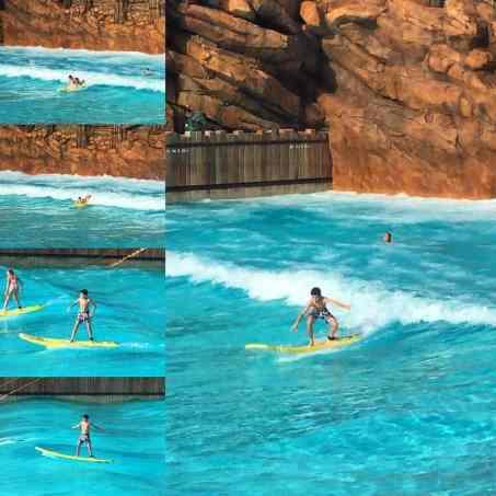 Surfing at Typhoon Lagoon WDW