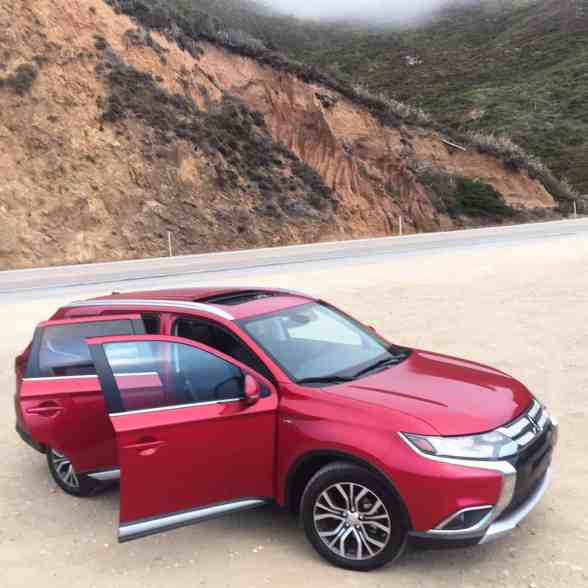 Mitsubishi Outlander en Big Sur