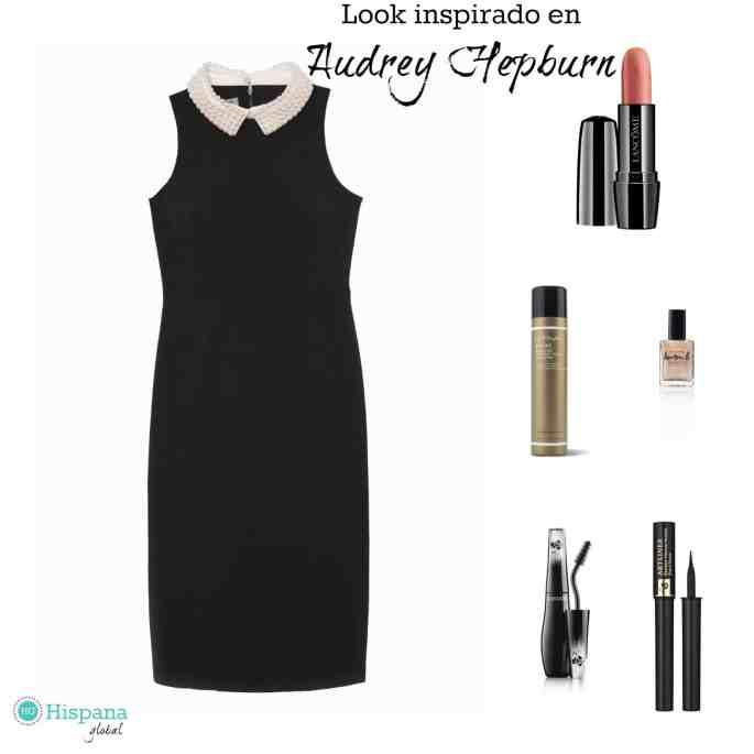 Look inspirado en Audrey Hepburn