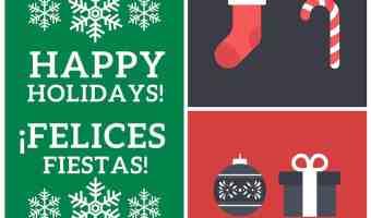 17 Tarjetas de Navidad gratis que puedes imprimir