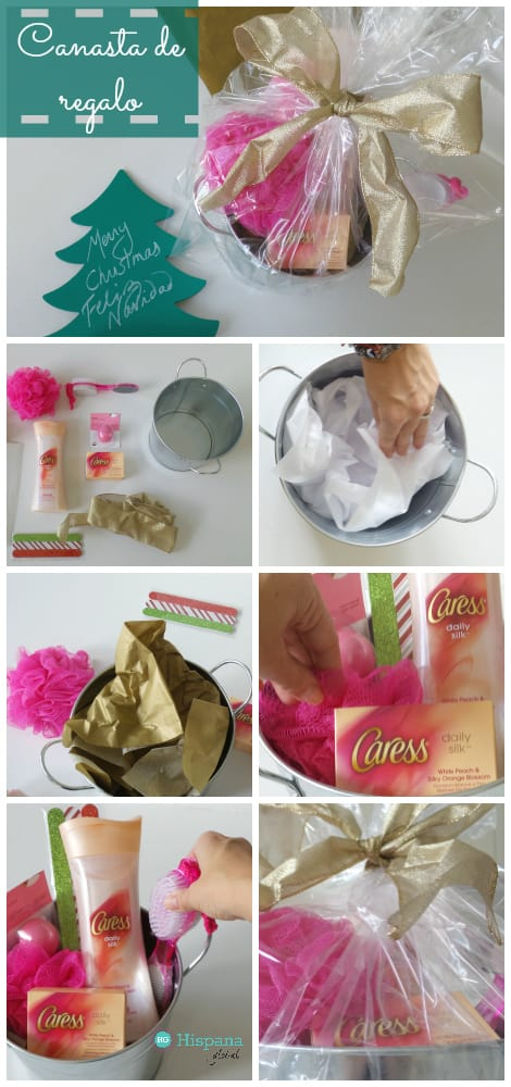 Como hacer una canasta de regalo
