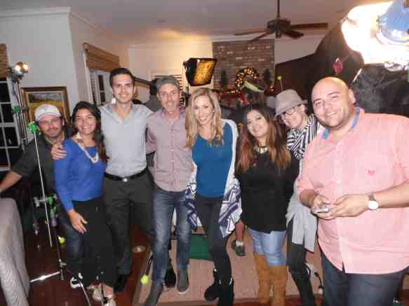 Final de la grabacion del comecial ATT Latino Santa Tracker App