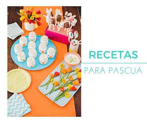 Recetas saludables y bellas para Pascua y la primavera