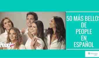 Video: Entretelones de los 50 más bellos de People en Español
