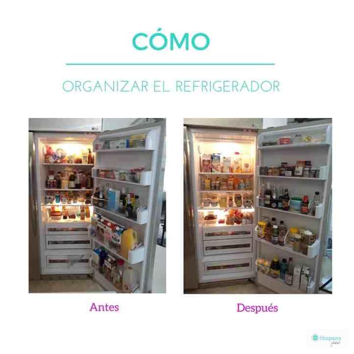 Consejos para organizar tu refrigerador hispana global for Como ordenar la nevera