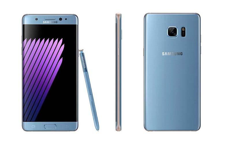 Samsung Galaxy Note 7 retirado del mercado