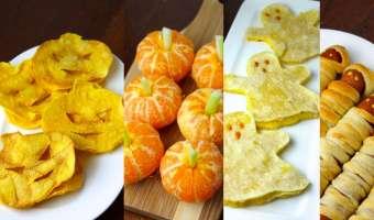 13 meriendas saludables para Halloween